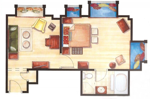 Wellness Suite Floor Plan
