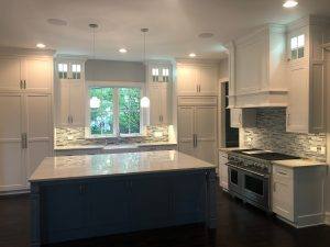 Downers Grove Illinois Kitchen project with Blue