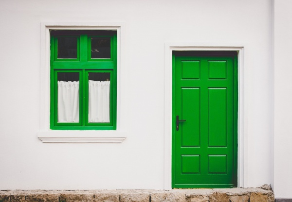 Bright door