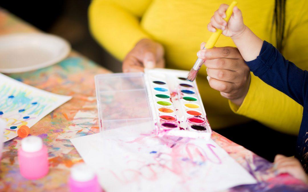 6 Creative Ways to Display Kid's Artwork