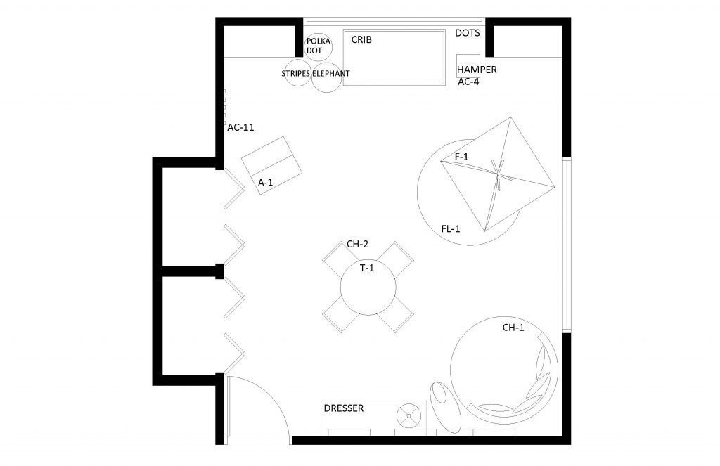 Childrens' Furniture Floor Plan