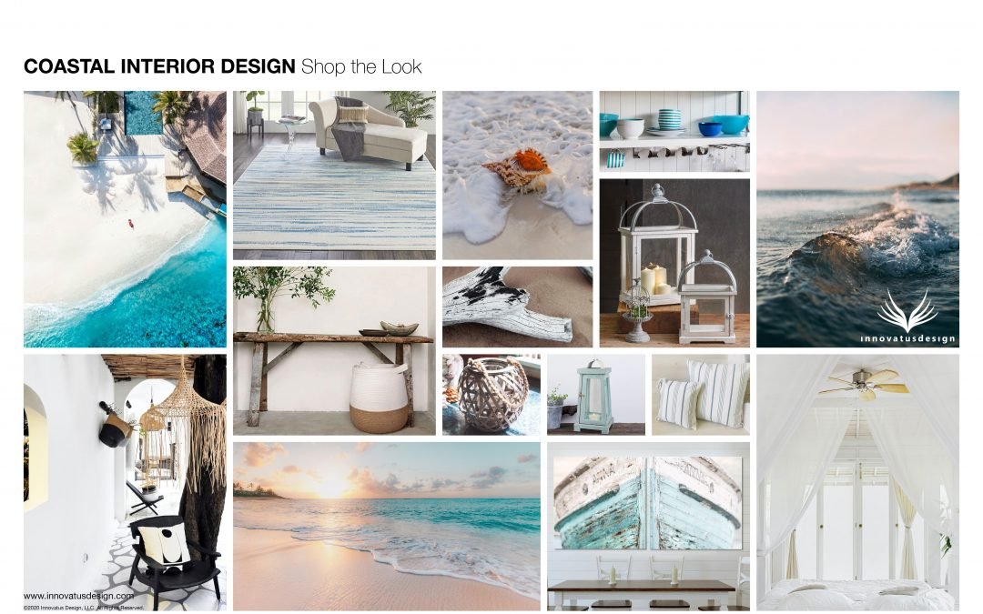 Coastal Interior Design Style Shop the Look