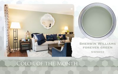 Color of the Month Sherwin Williams Forever Green