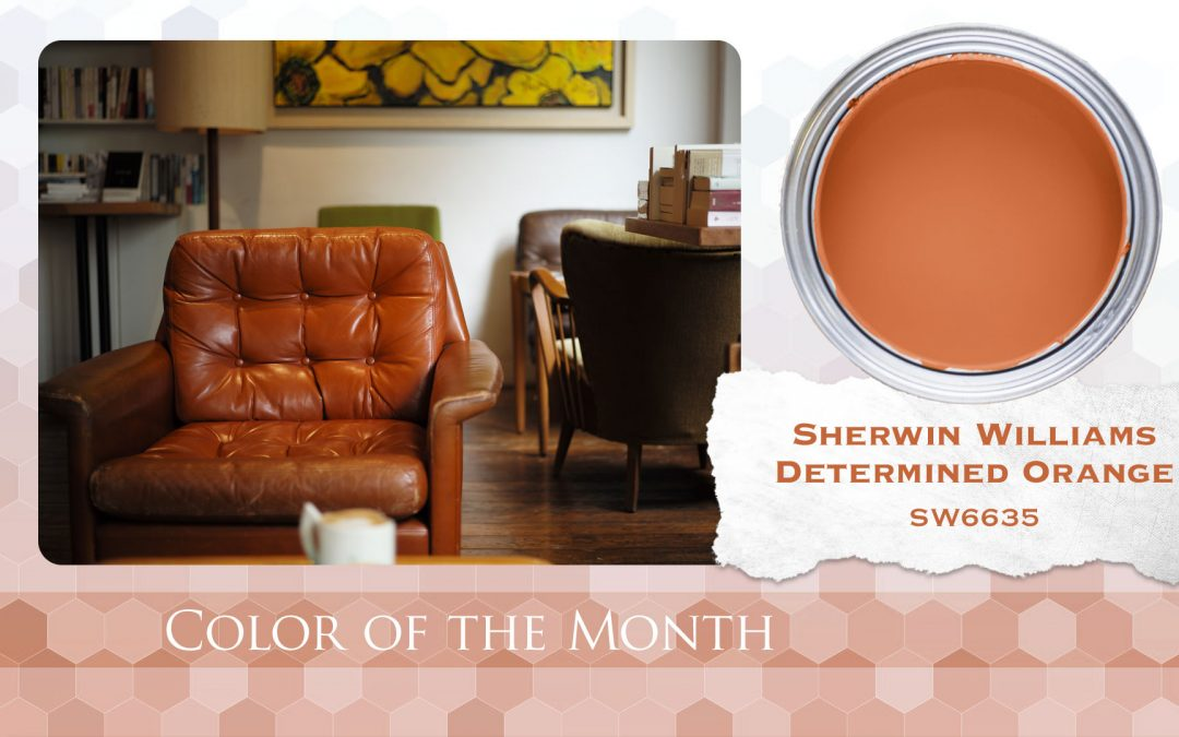 Sherwin Williams Color of the Month Determined Orange