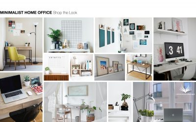 Shop the Look Minimalist Home Office