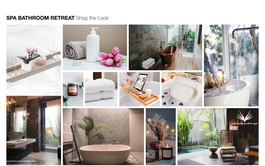 Spa Bathroom Retreat Shop the Look
