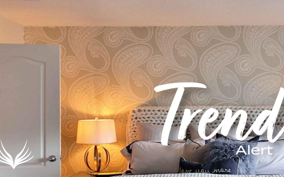 Trend Alert: Peel and Stick Wallpaper
