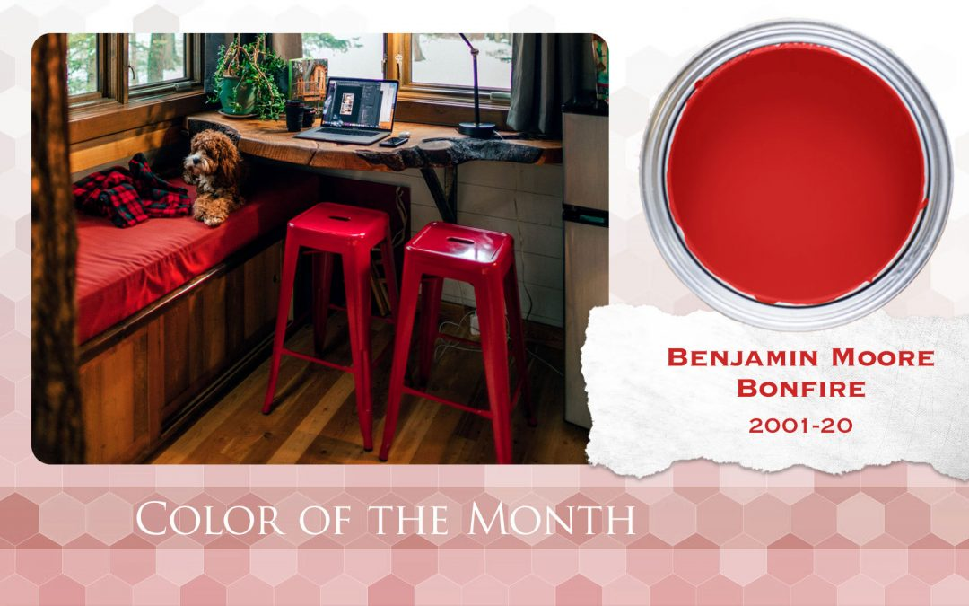 Color of the Month Benjamin Moore Bonfire