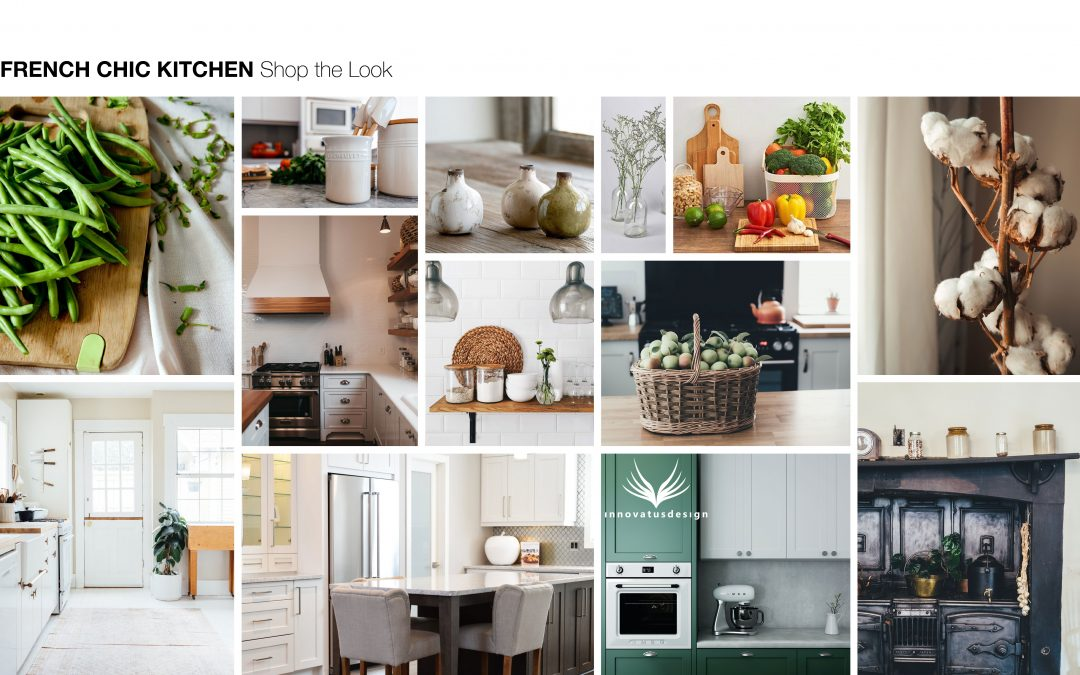 Shop the Look French Chic Kitchen