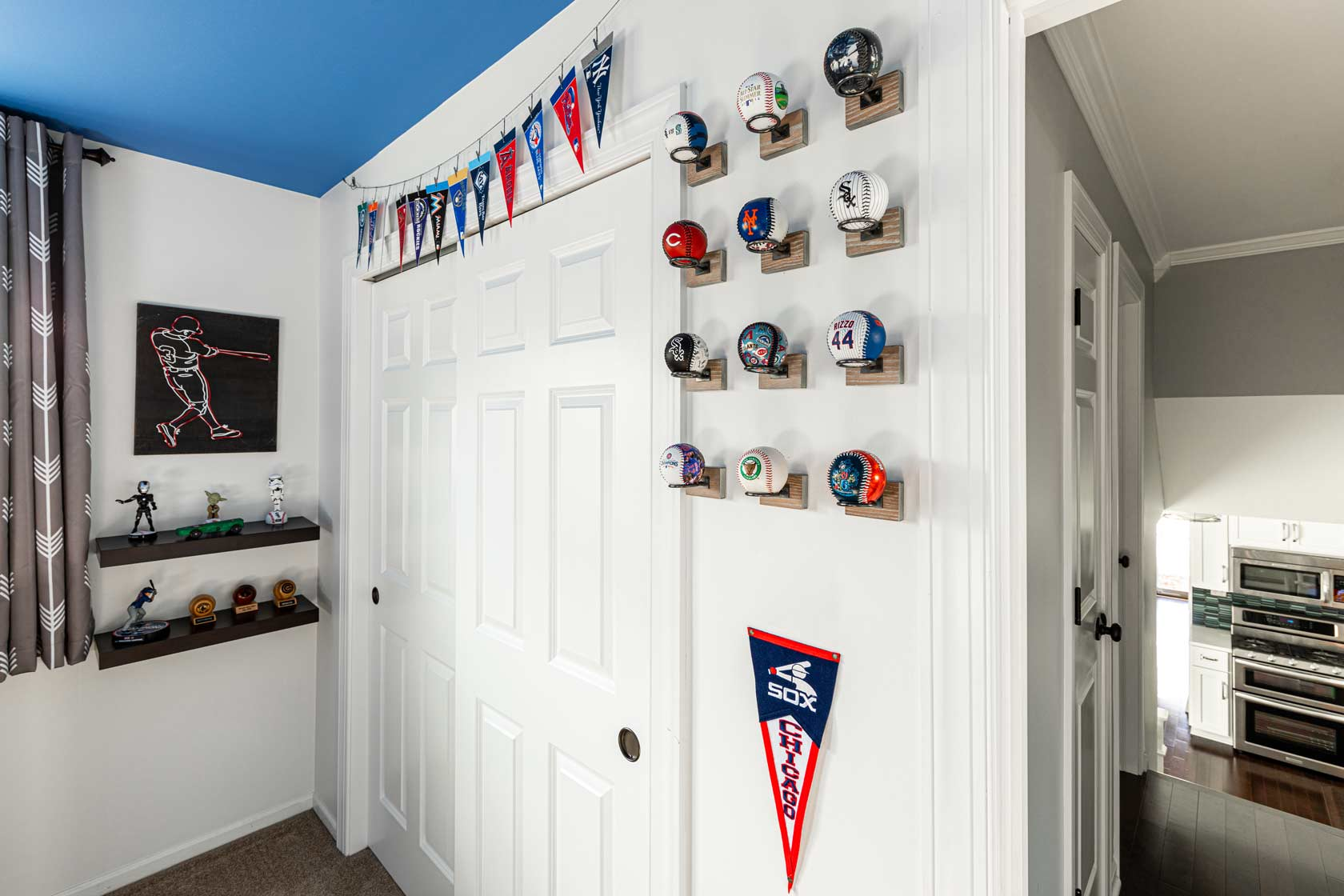 baseball themed bedroom
