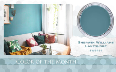 Color of the Month Sherwin Williams Lakeshore