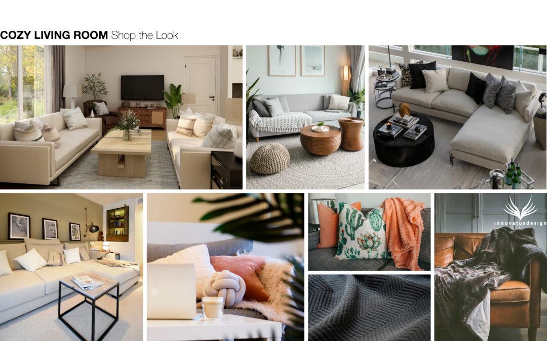 Shop the Look Cozy Living Room