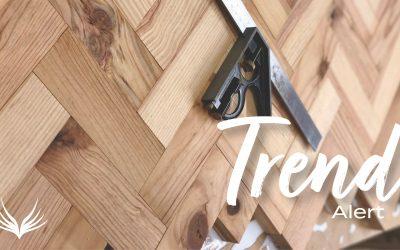 Trend Alert Herringbone Hardwood Floors
