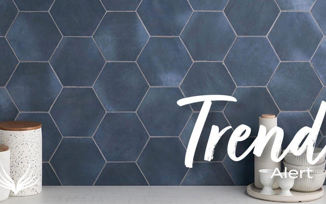 Trend Alert Hexagon Tile