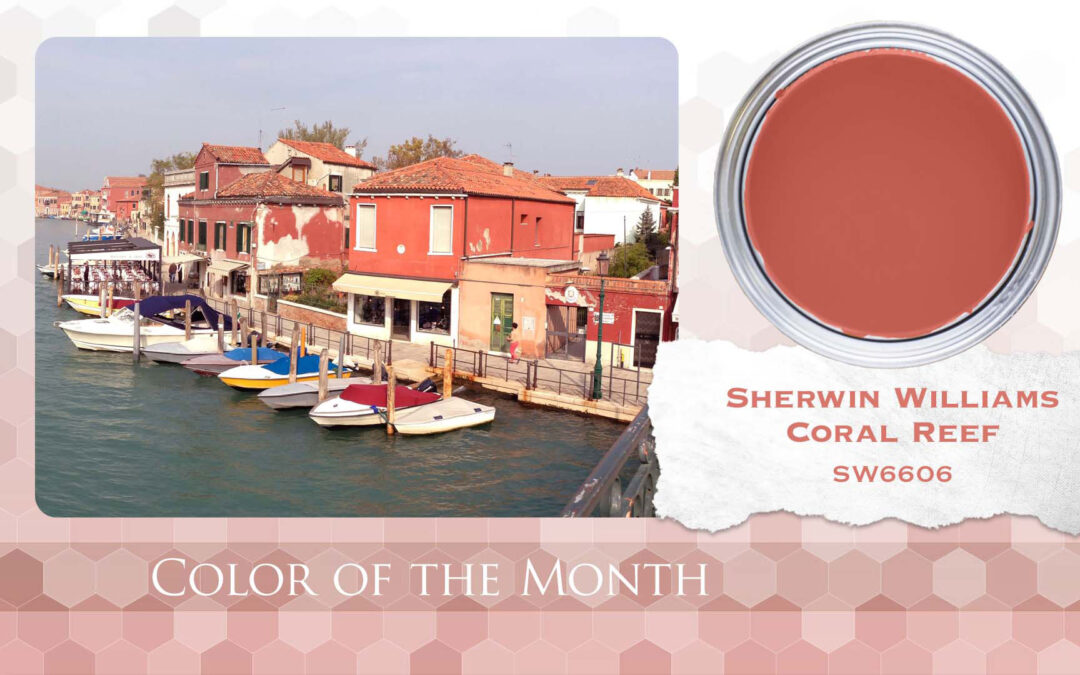 Color of the Month Sherwin Williams Coral Reef