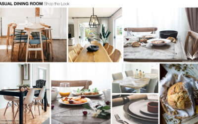 Shop the Look Casual Dining Room