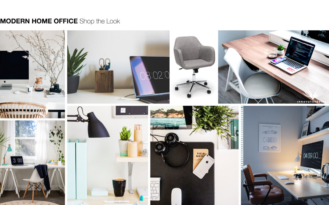 Shop the Look Modern Home Office