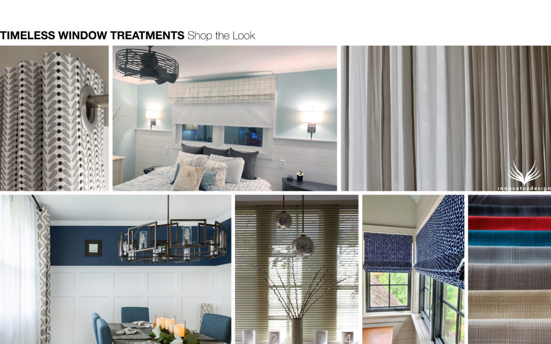 Shop the Look Timeless Window Treatments