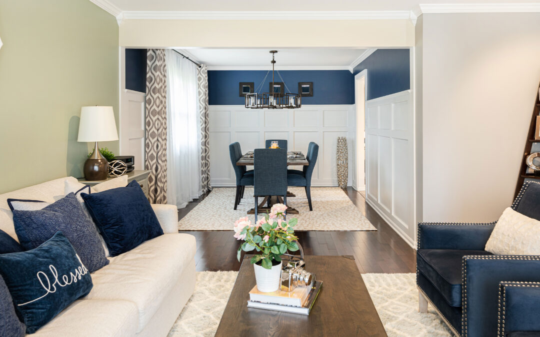 How to Plan Area Rugs in Open Concept Spaces