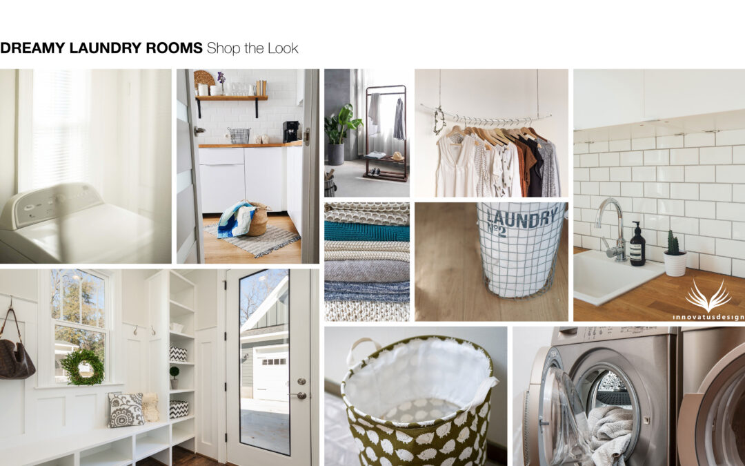 Shop the Look Dreamy Laundry Rooms