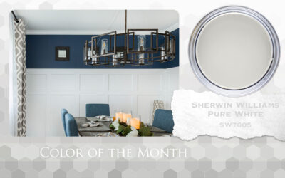 Color of the Month Sherwin Williams Pure White