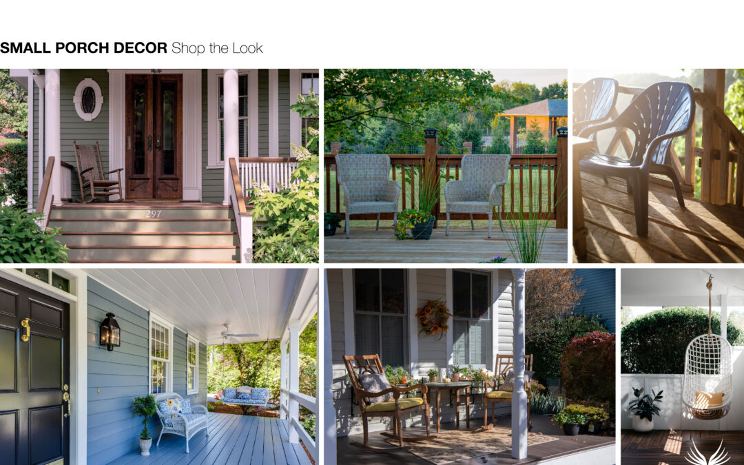 Shop the Look Small Porch Décor