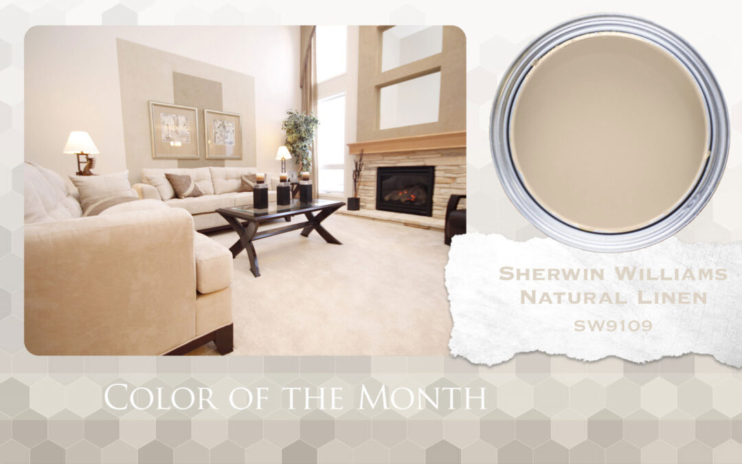 Color of the Month Sherwin Williams Natural Linen