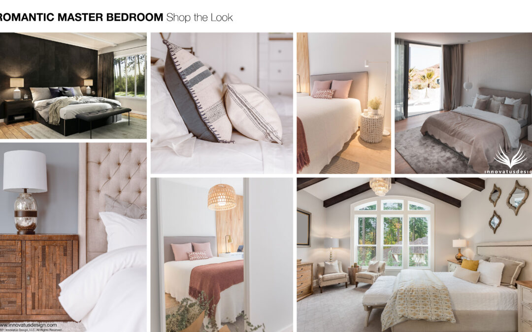 Shop the Look Romantic Master Bedroom
