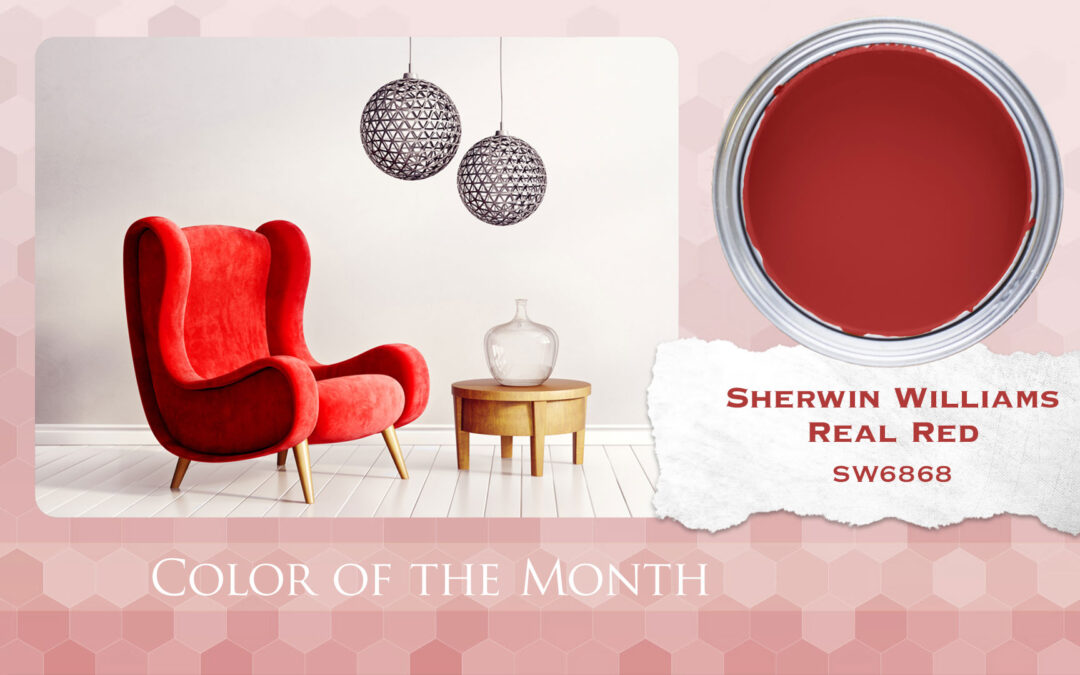 Color of the Month Sherwin Williams Real Red