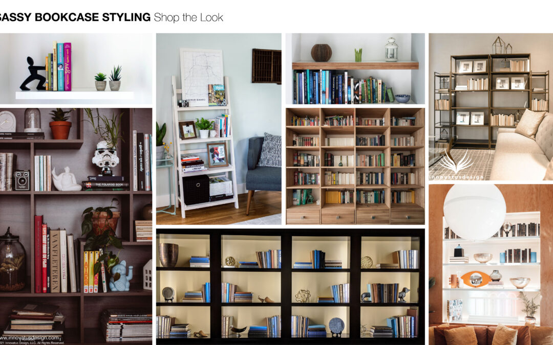 Shop the Look Sassy Bookcase Styling