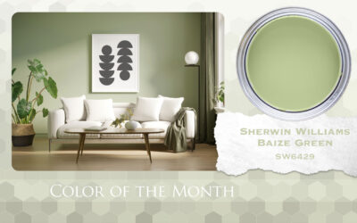 Color of the Month Sherwin Williams Baize Green