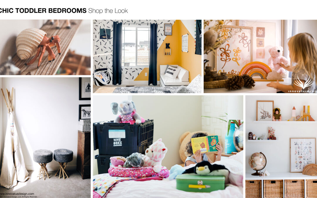 Shop the Look Chic Toddler Bedrooms