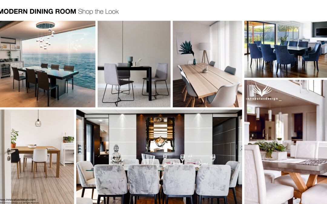 Shop the Look Modern Dining Room