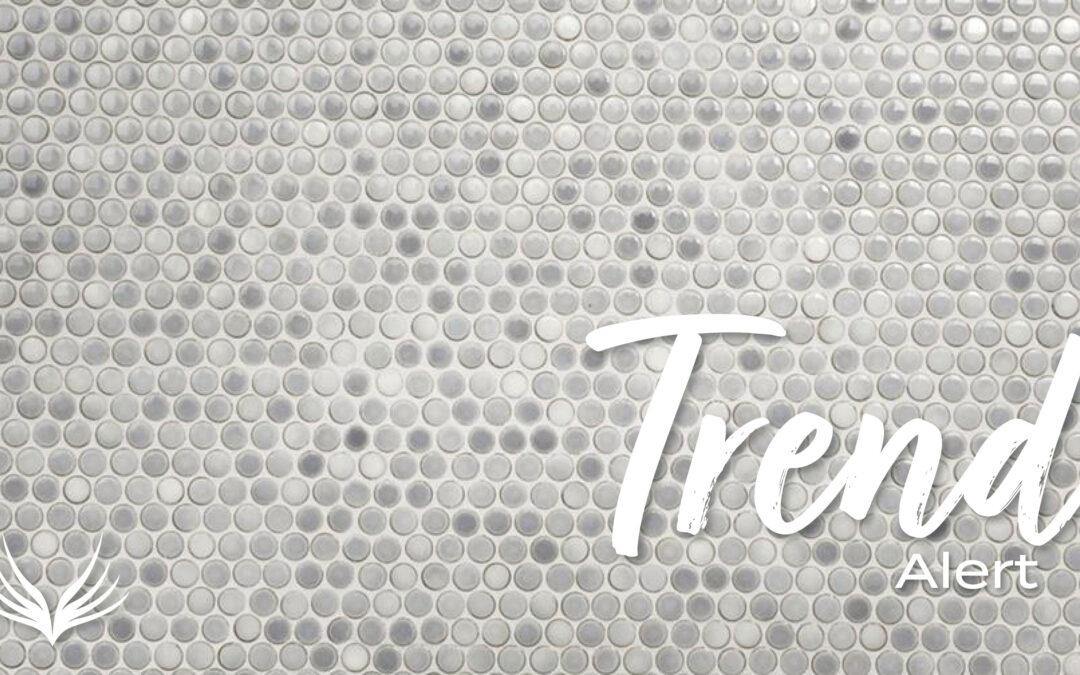 Trend Alert Penny Round Tile